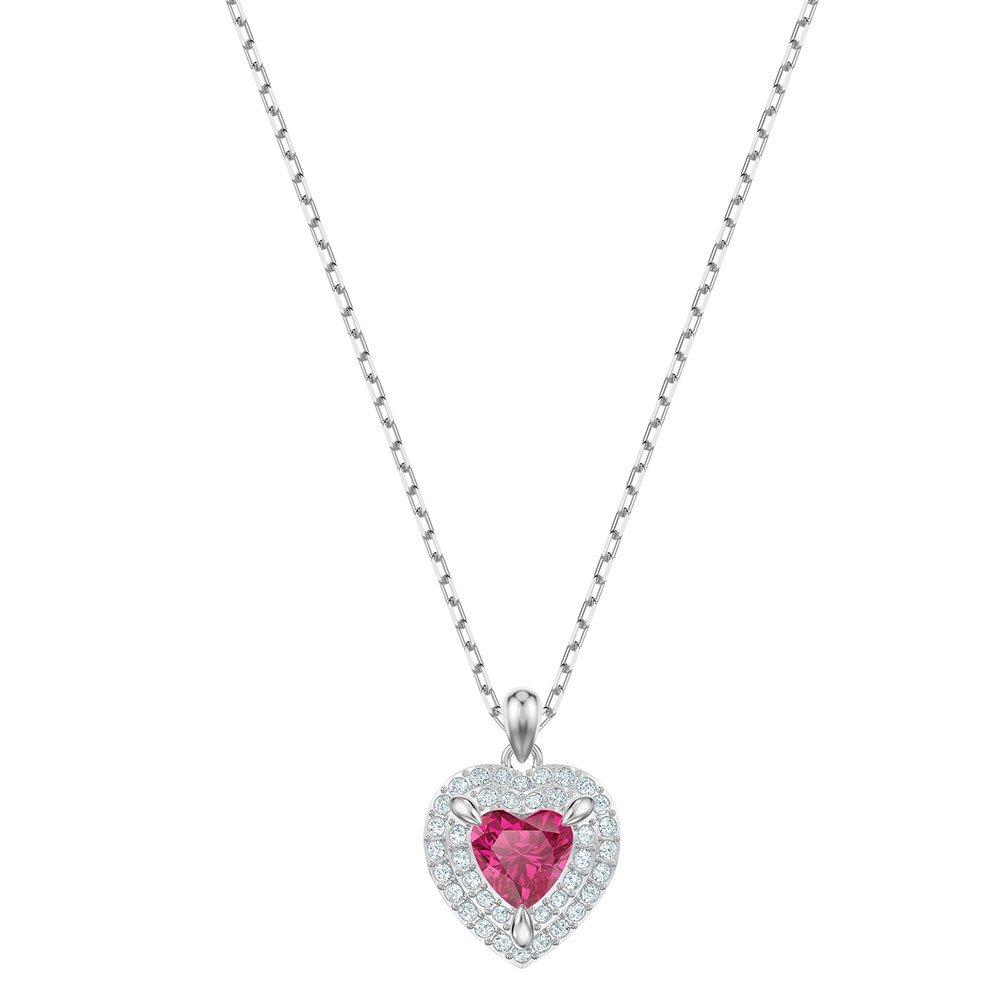Swarovski One Red Heart Pendant