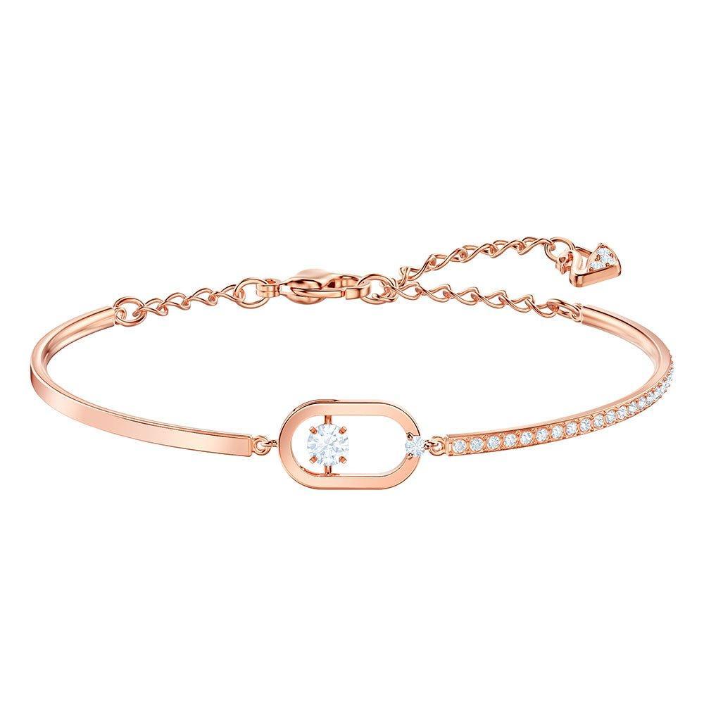 Swarovski North Rose Gold Tone Oval Crystal Bracelet