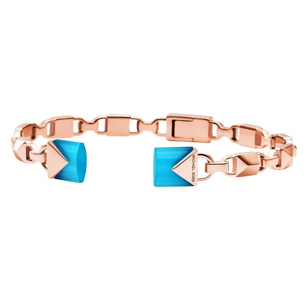 Michael Kors Mercer Link Rose Gold Plated Silver Bracelet