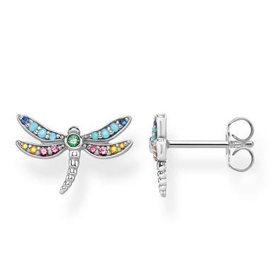 Thomas Sabo Silver Dragonfly Earrings