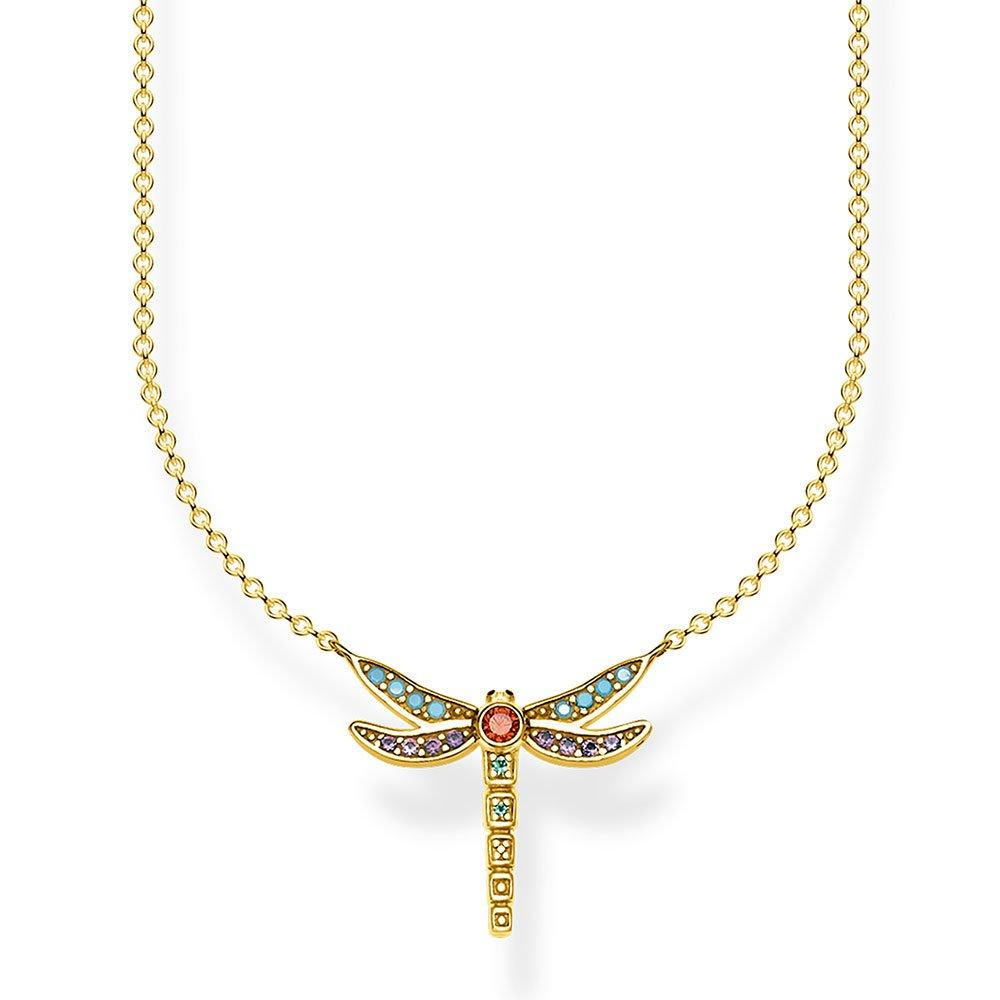 Thomas Sabo Gold Plated Silver Dragonfly Necklace