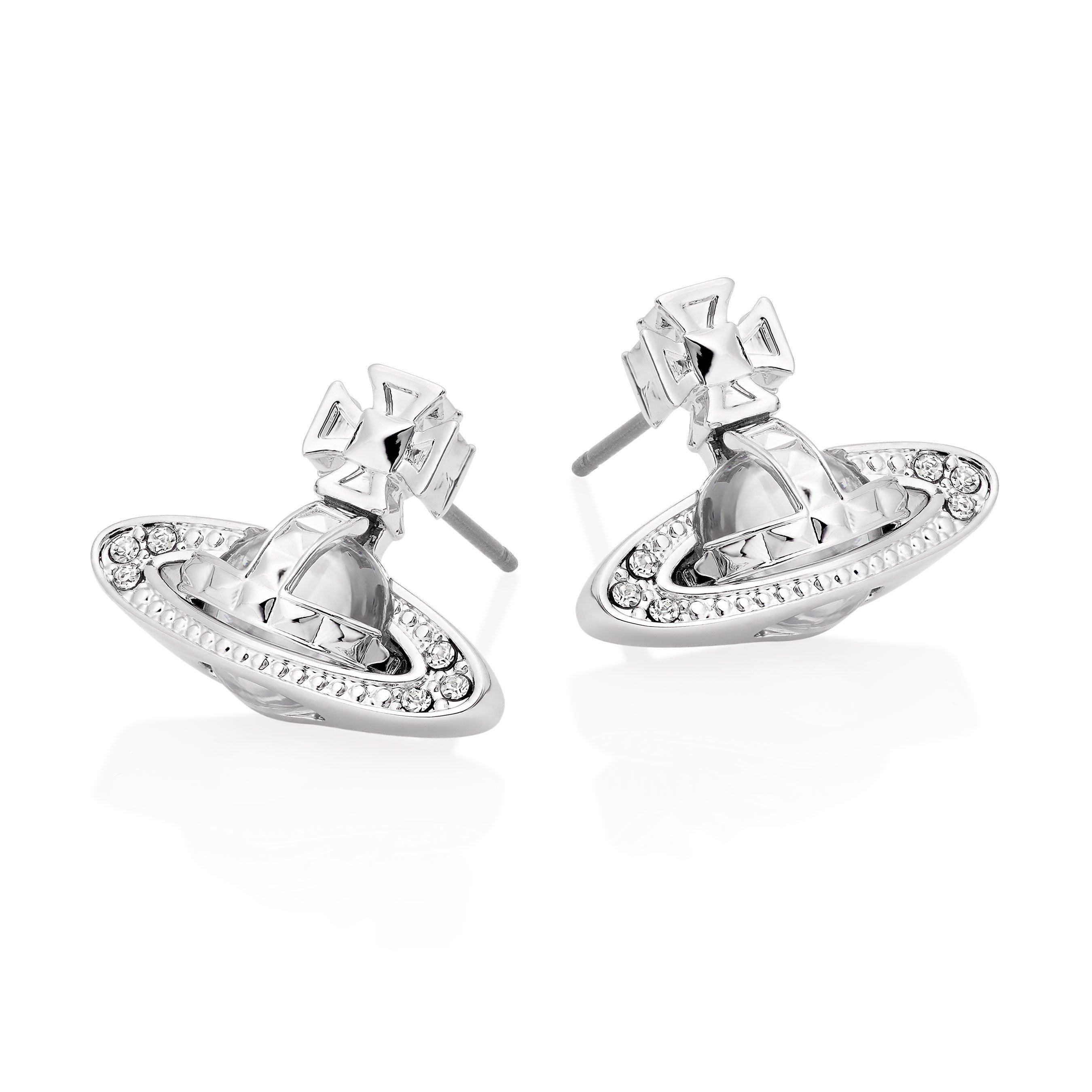 Vivienne Westwood Pina Bas Relief Orb Earrings