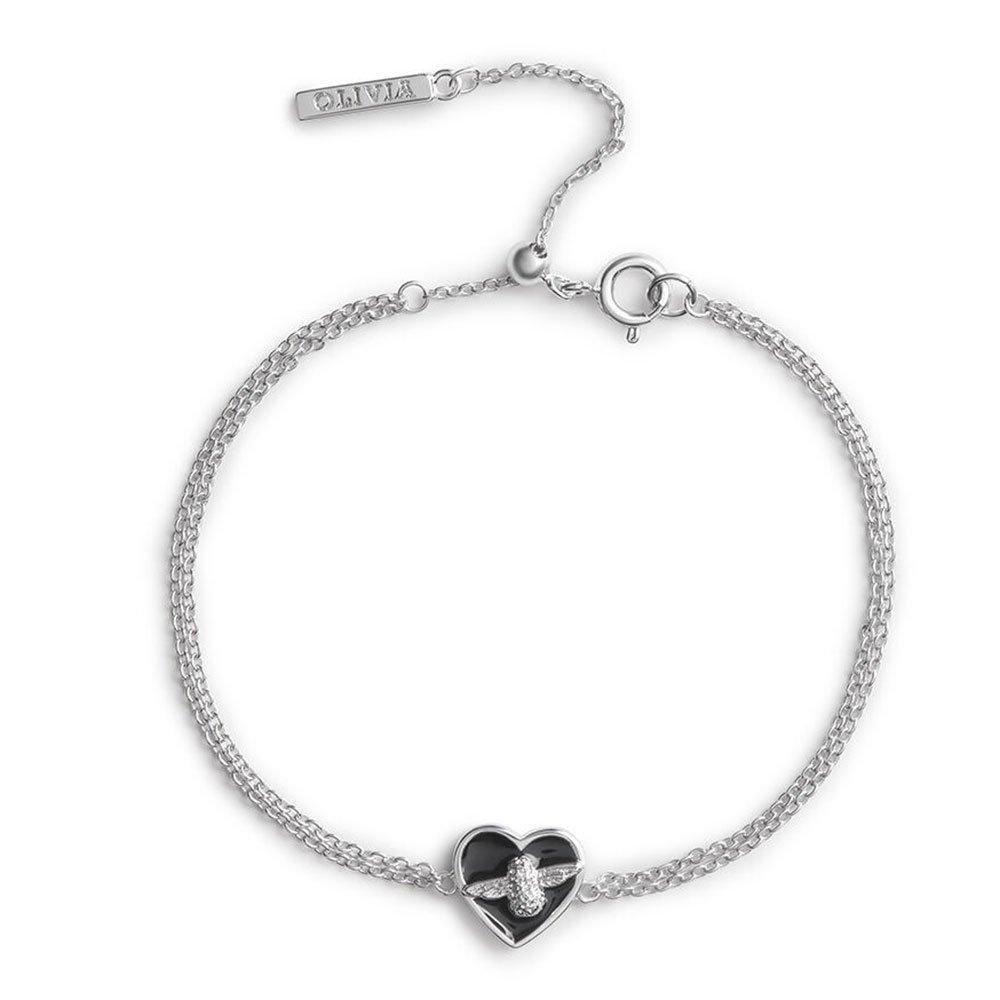 Olivia Burton Love Bug Silver Tone Bracelet