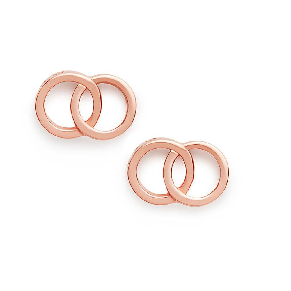 Olivia Burton Classic Rose Gold Plated Silver Earrings