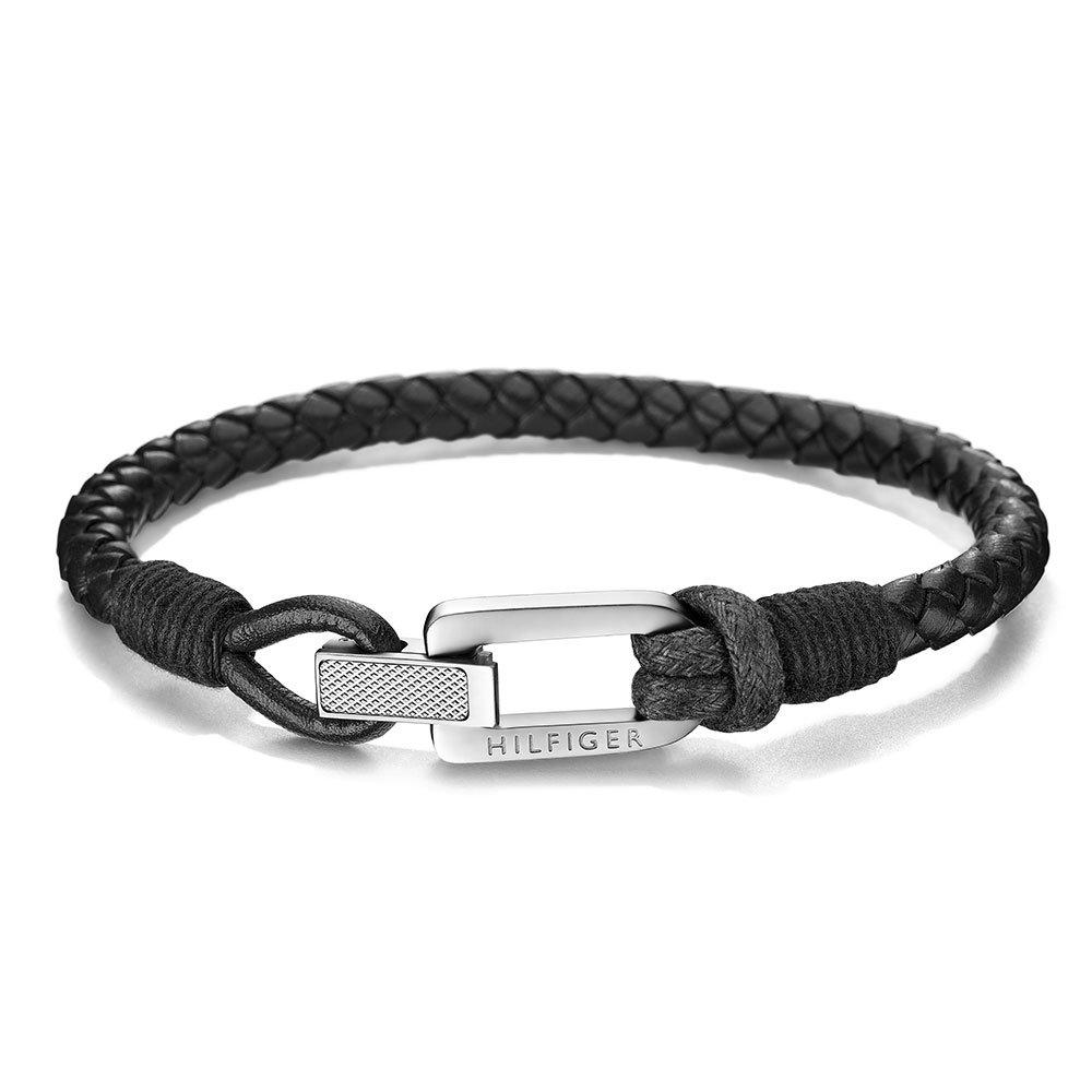 Tommy Hilfiger Tommy Hilfiger Braided Leather Men's Bracelet