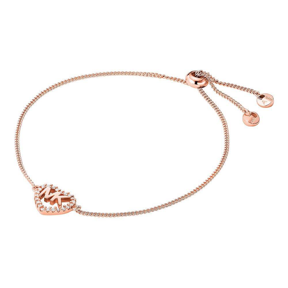 Michael Kors Love 14ct Rose Gold Plated Bracelet