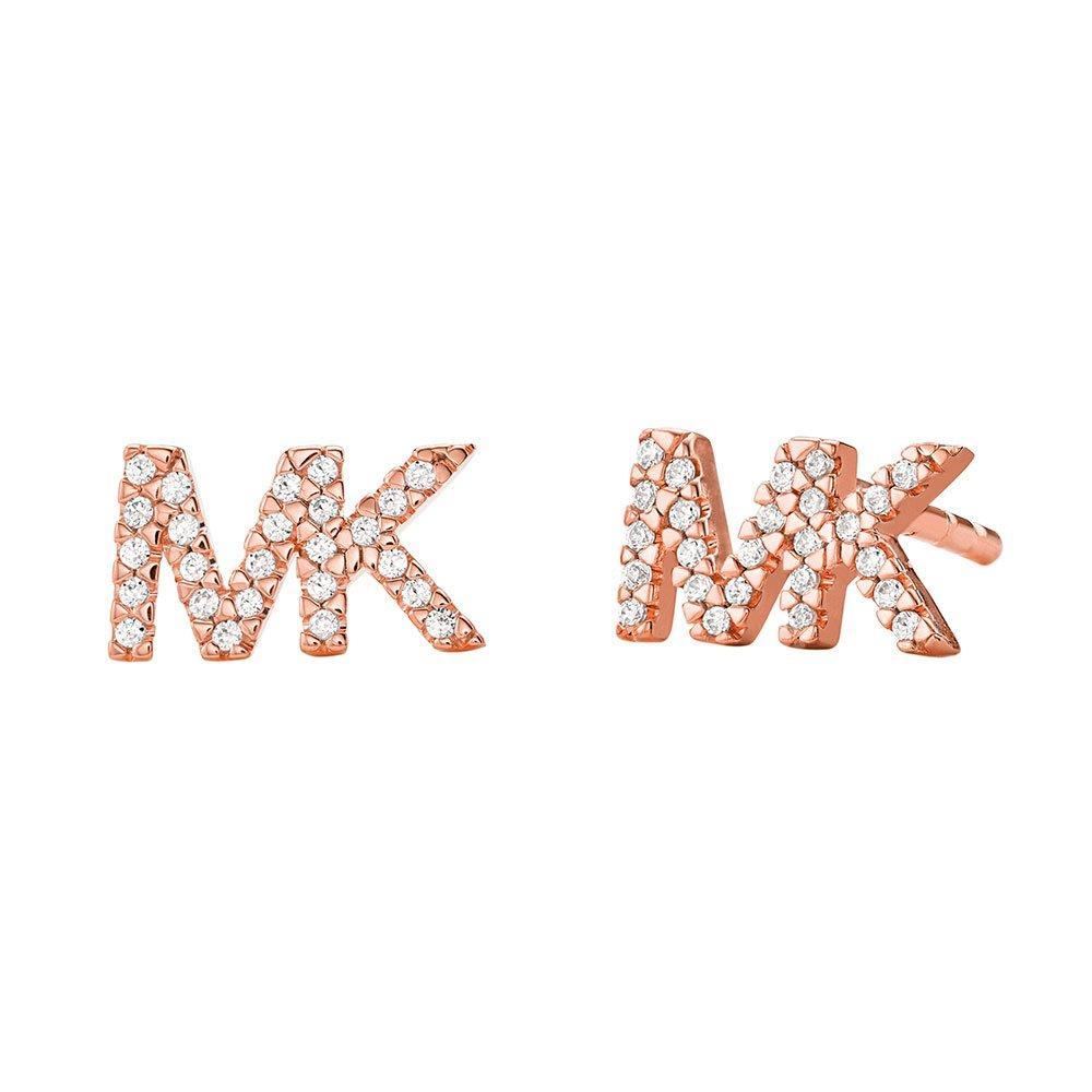 Michael Kors Premium 14ct Rose Gold Plated Earrings