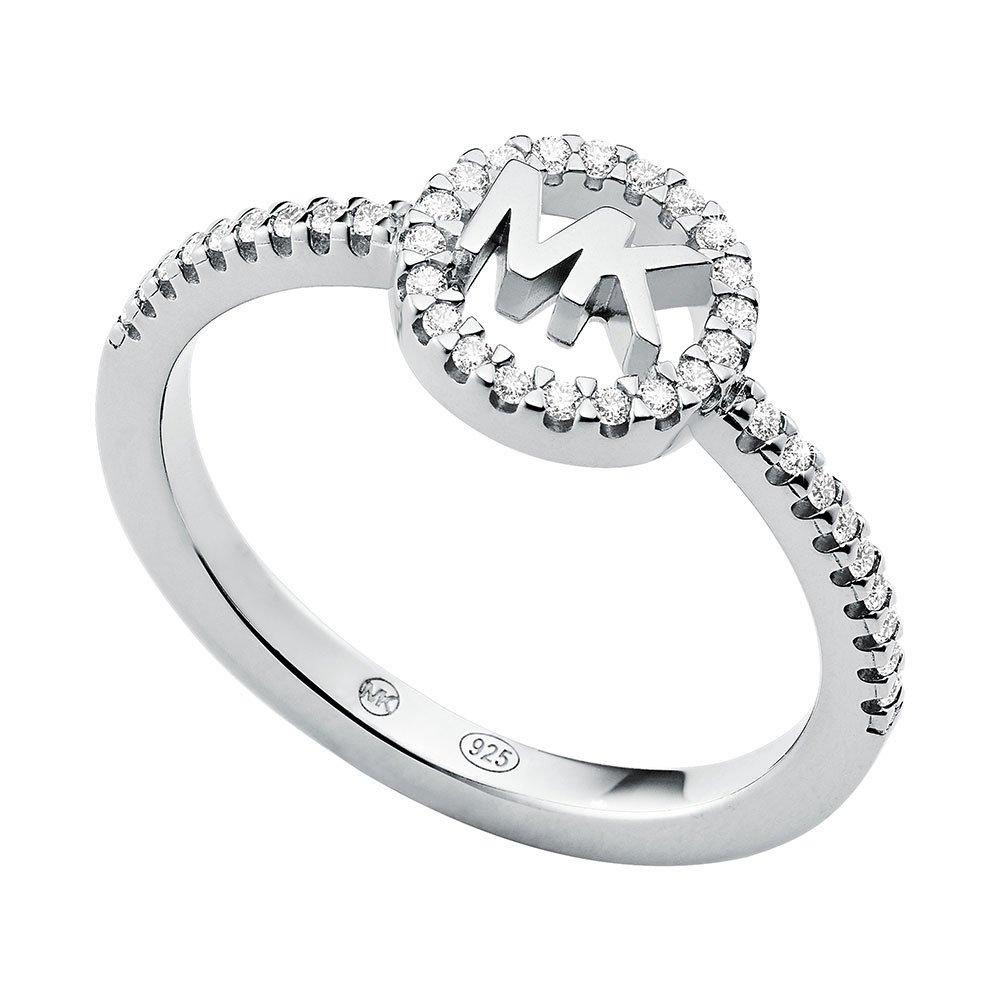 Michael Kors Love Logo Silver Ring