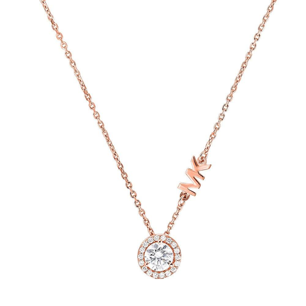Michael Kors Custom 14ct Rose Gold Plated Necklace