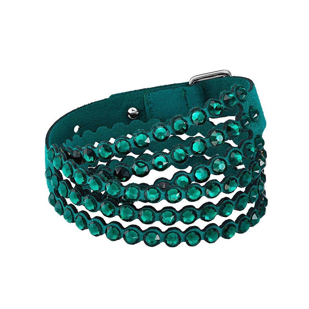 Swarovski Impulse Green Crystal Bracelet