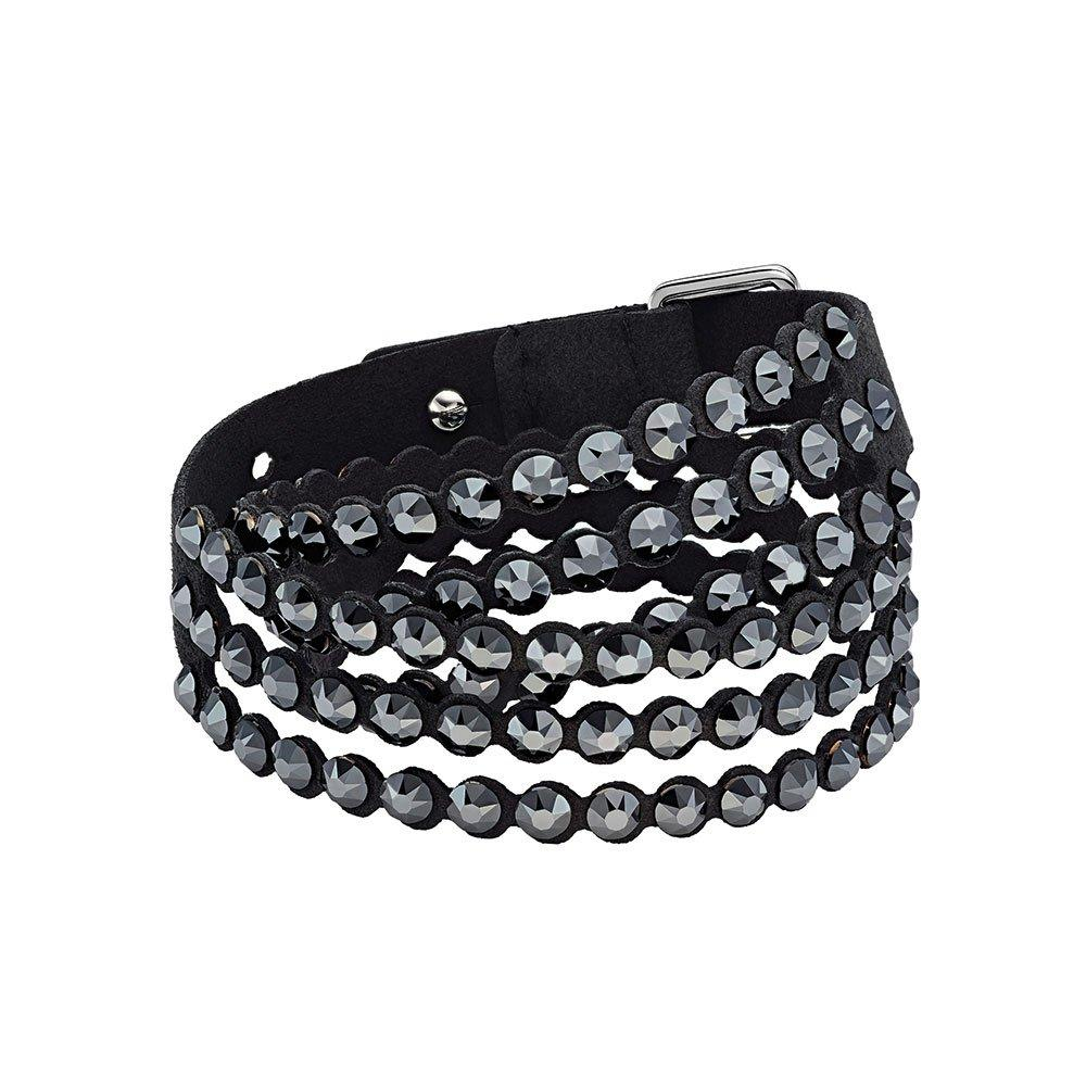 Swarovski Impulse Black Crystal Bracelet