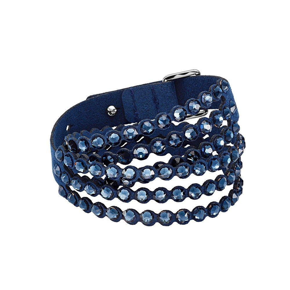 Swarovski Impulse Navy Blue Crystal Bracelet