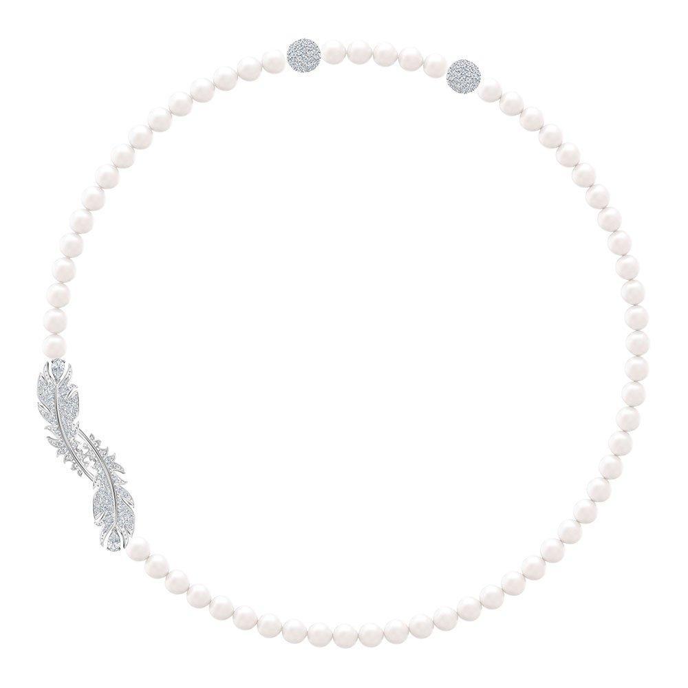 Swarovski Nice Rhodium Plated Necklace