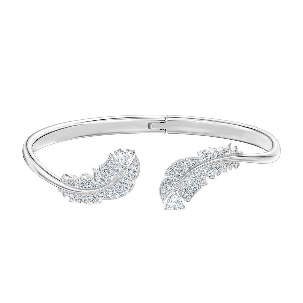 Swarovski Nice Feather Crystal Bangle