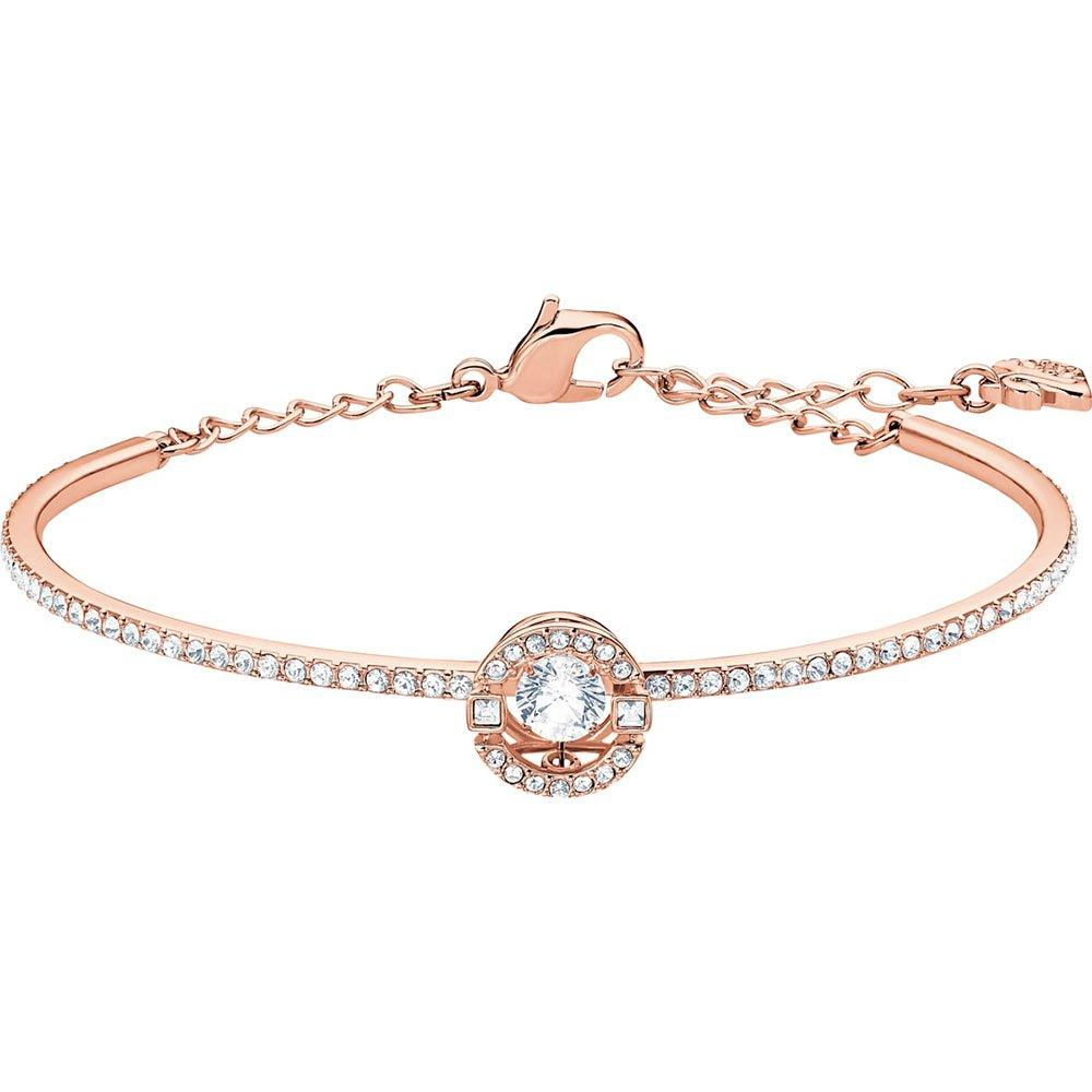 Swarovski Sparkling Rose Gold Tone Bangle