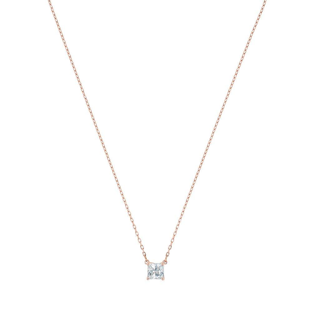 Swarovski Crystal Attract Rose Gold Tone Necklace