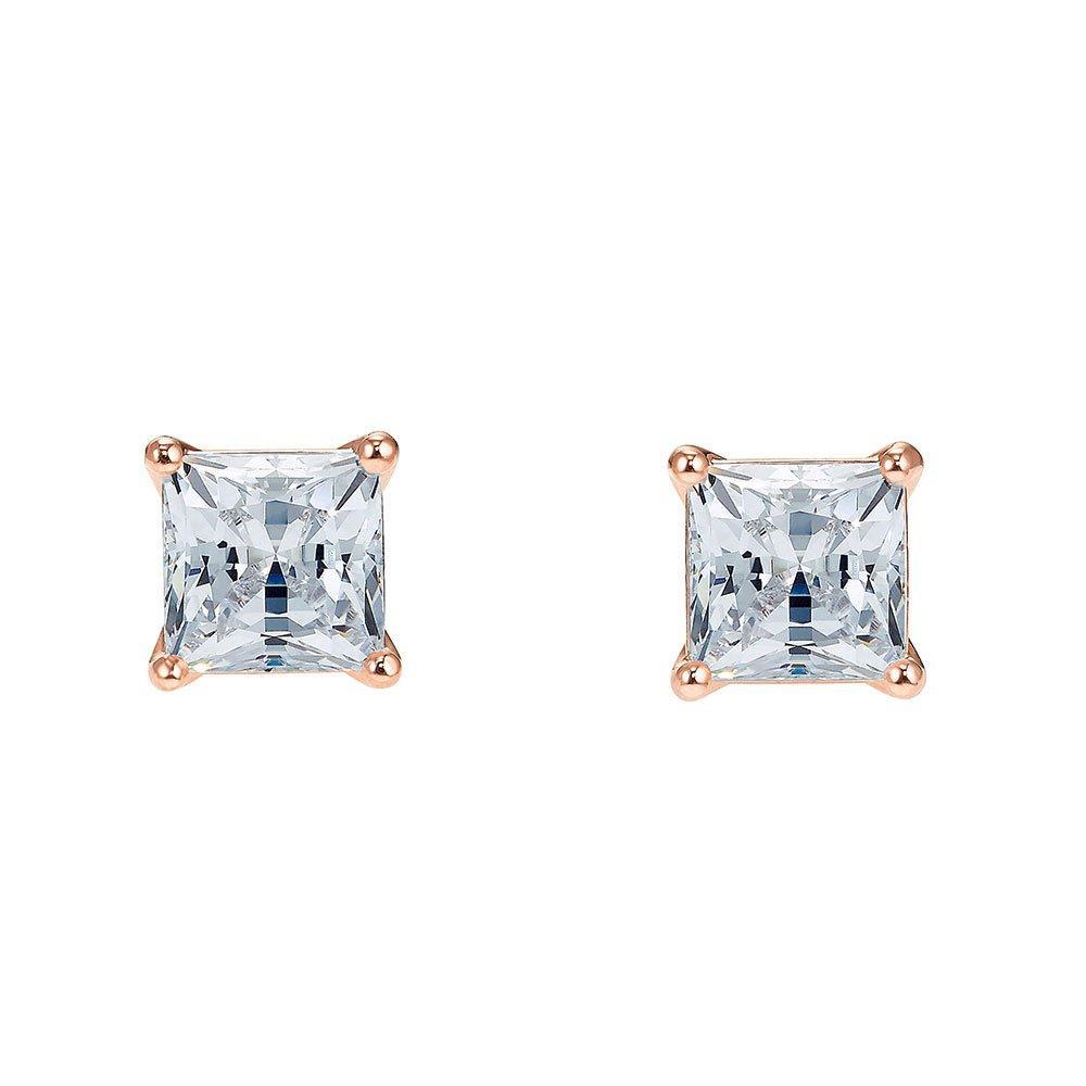 Swarovski Crystal Attract Rose Gold Tone Stud Earrings
