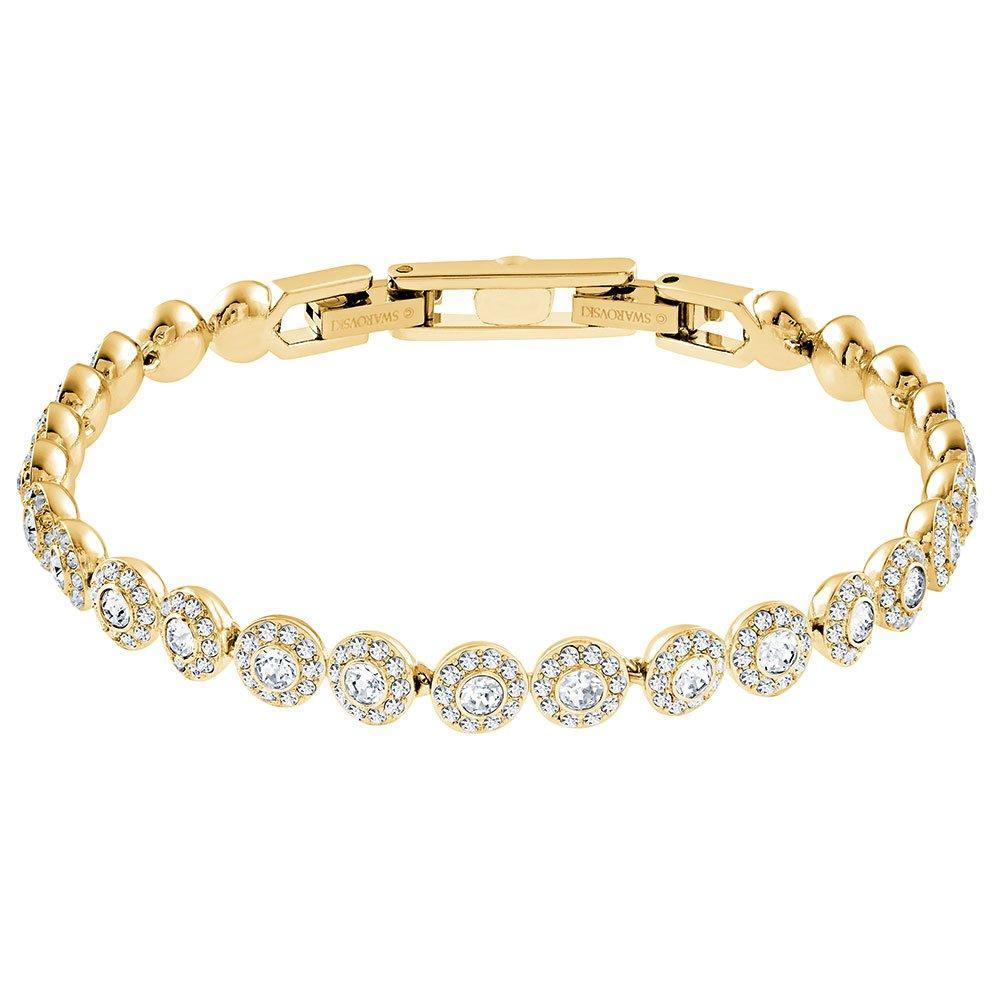 Swarovski Crystal Gold Tone Angelic Bracelet