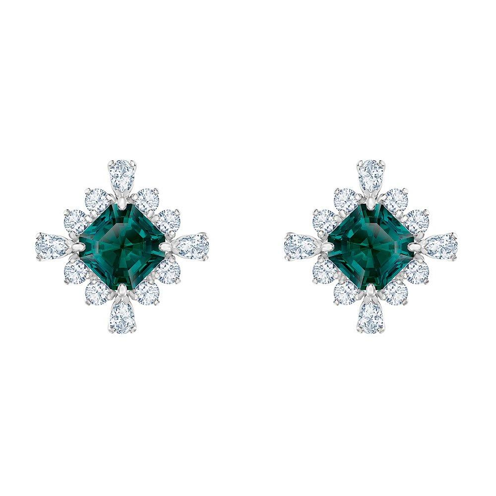 Swarovski Palace Green Stud Earrings