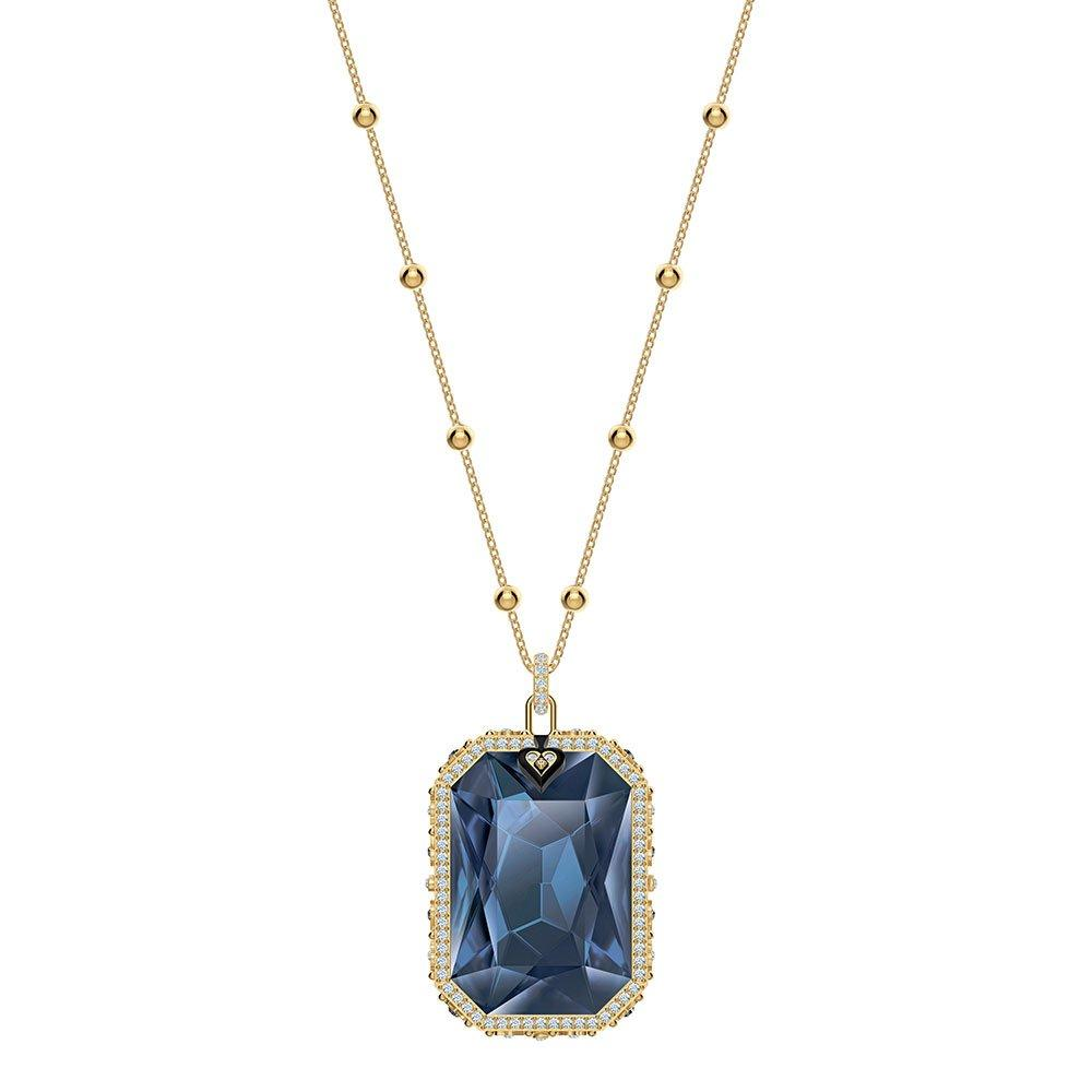 Swarovski Tarot Magic Crystal Gold Tone Pendant