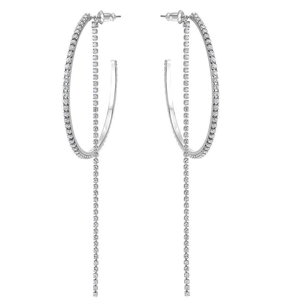 Swarovski Fit Hoop Earrings