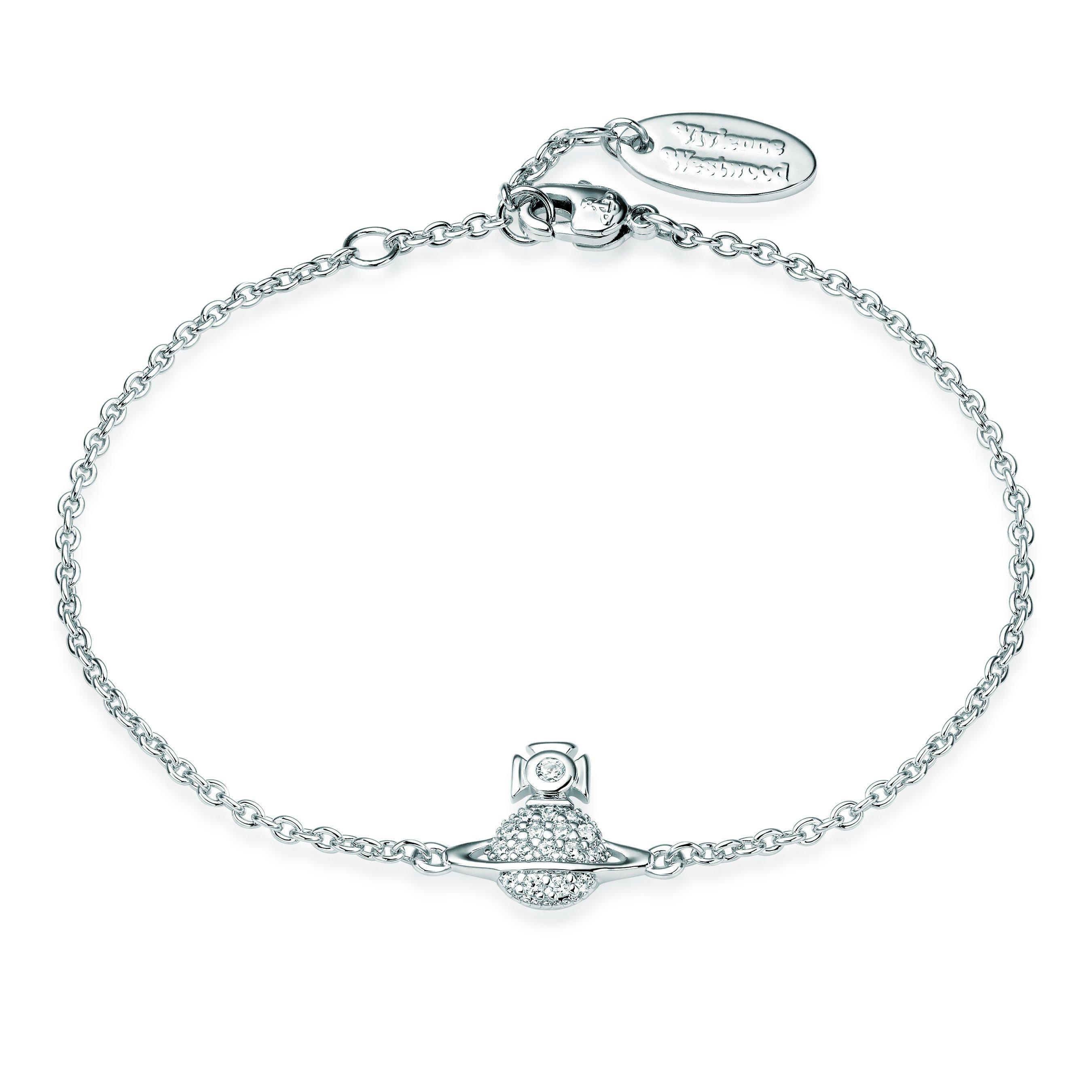 Vivienne Westwood Tamia Silver Tone Bracelet