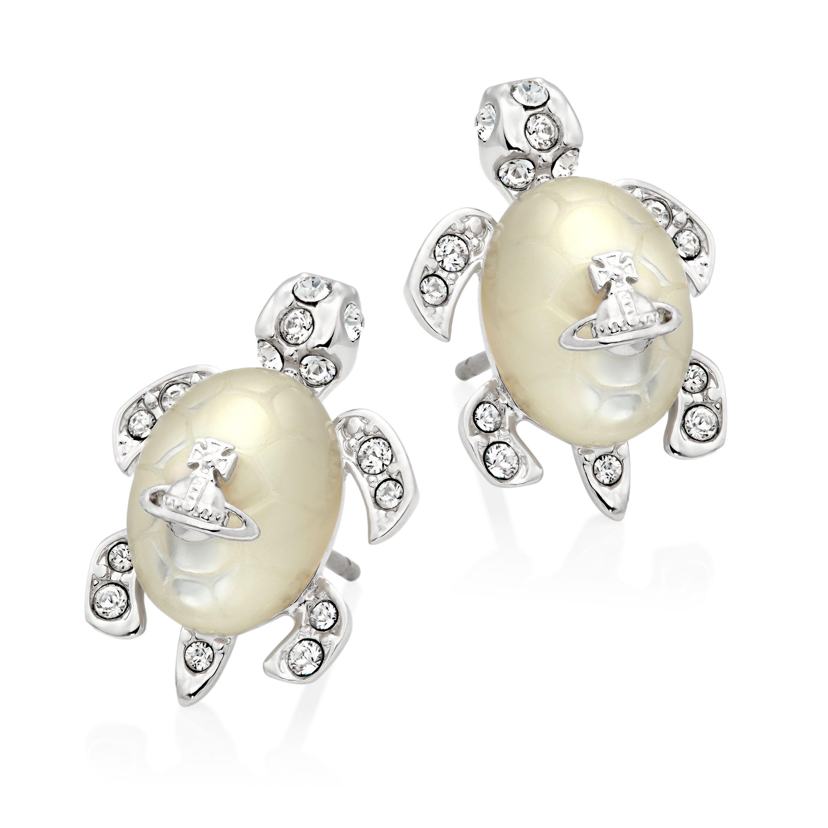 Vivienne Westwood Turtle Earrings