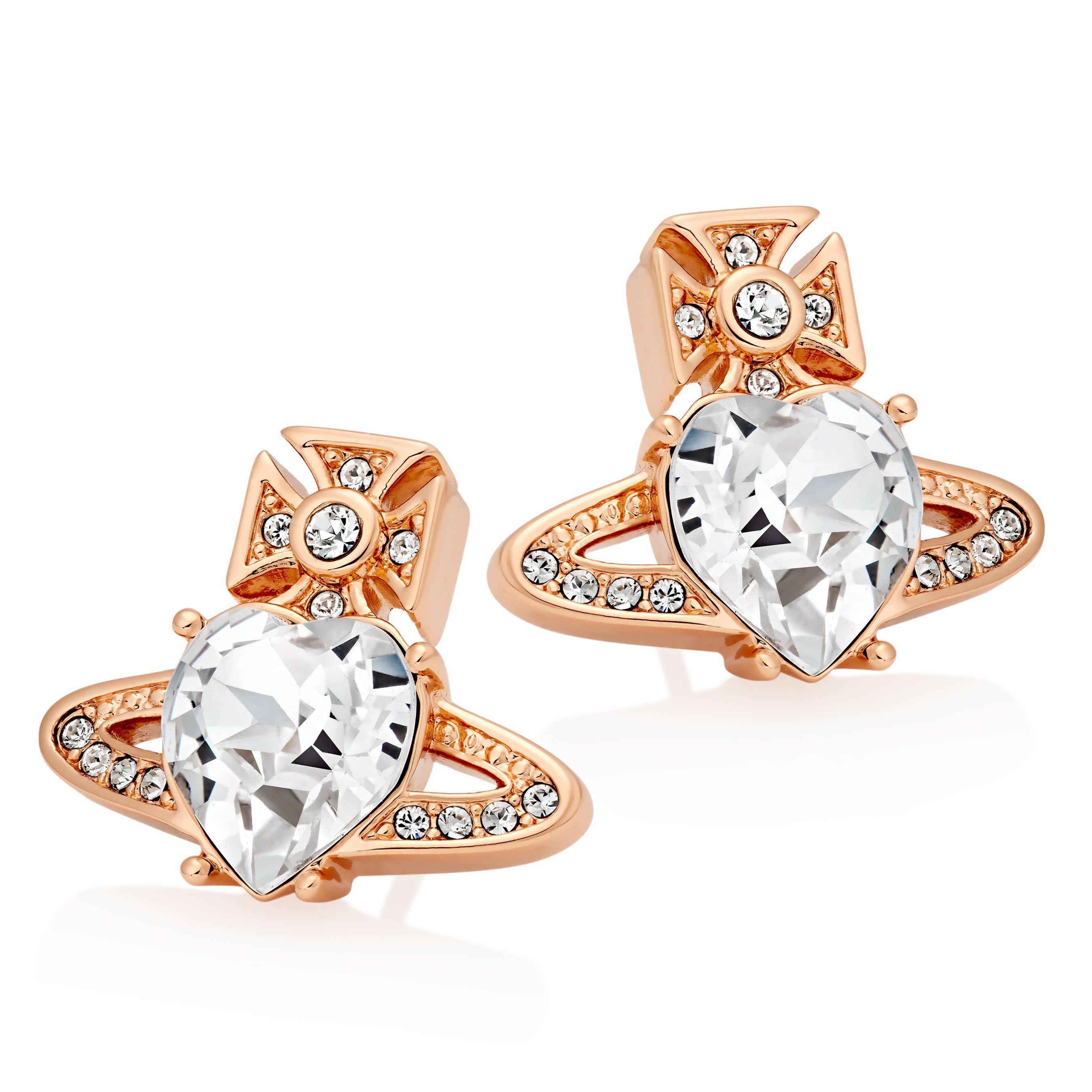 Vivienne Westwood Ariella Rose Tone Earrings
