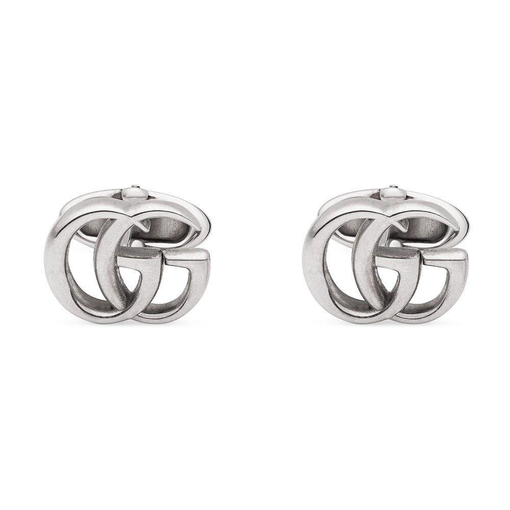 Gucci Marmont Silver Men's Cufflinks