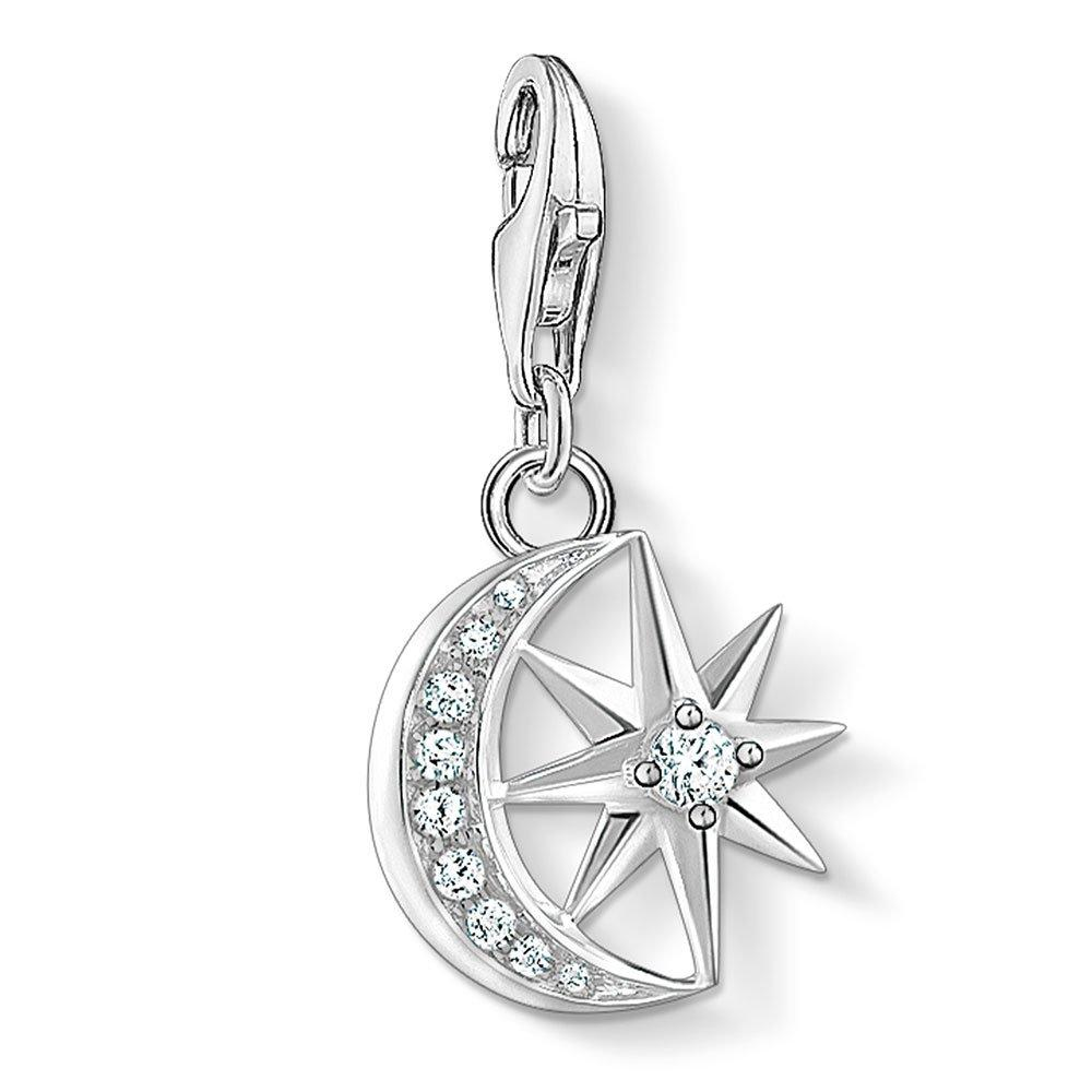Thomas Sabo Silver Star and Moon Charm