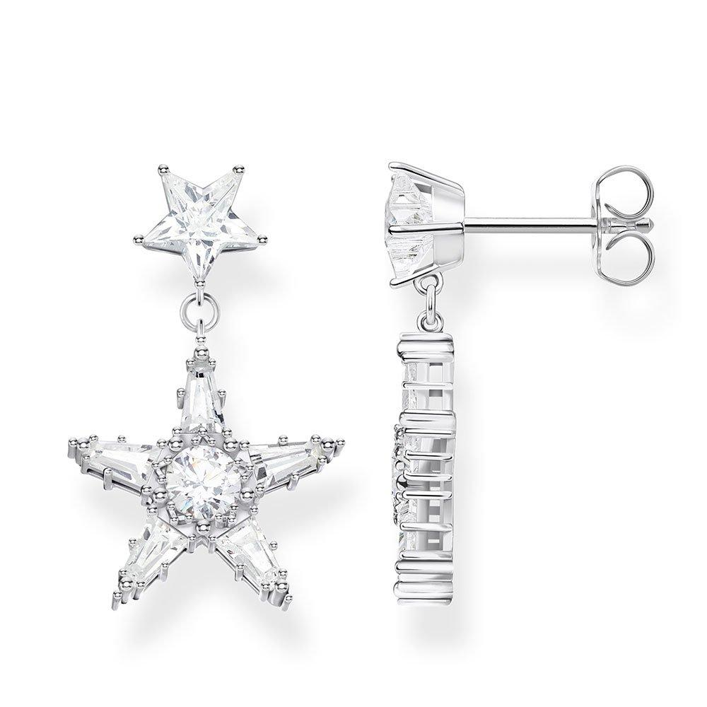 Thomas Sabo Star Drop Earrings