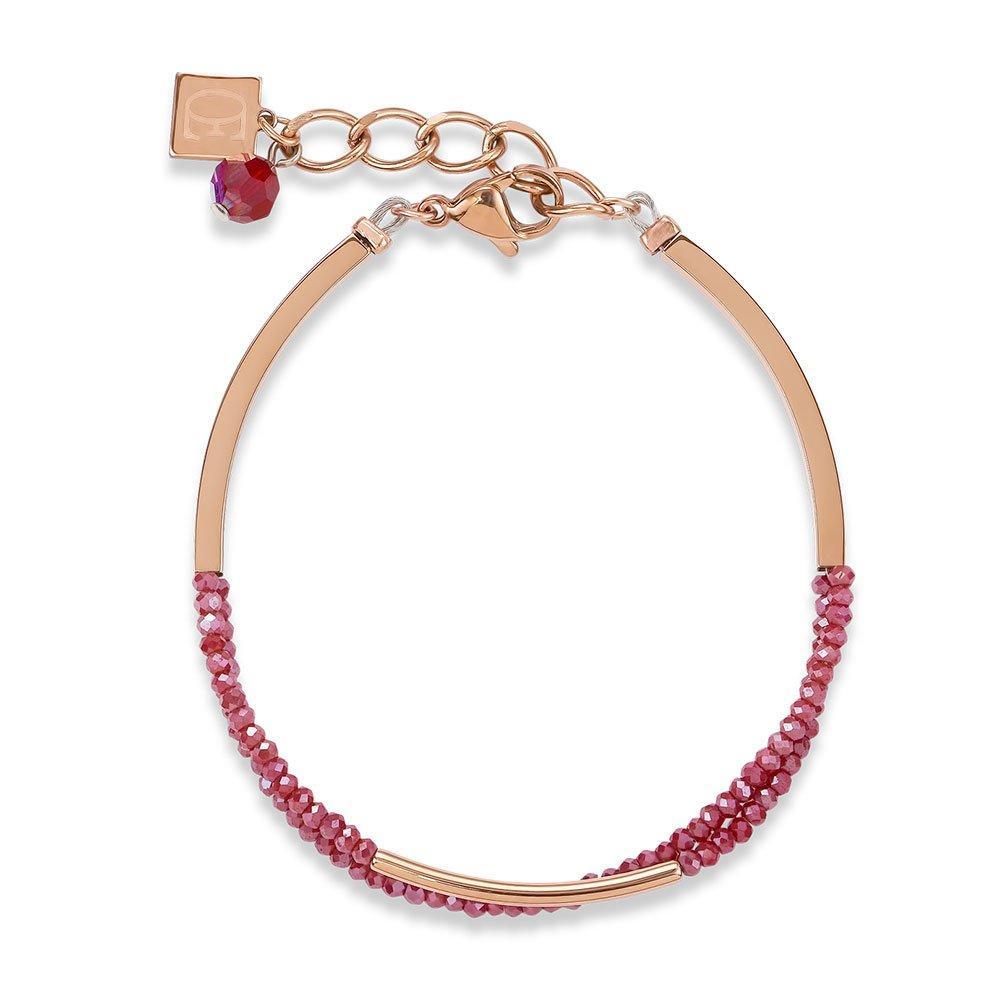 Coeur De Lion Rose Gold Plated Bracelet