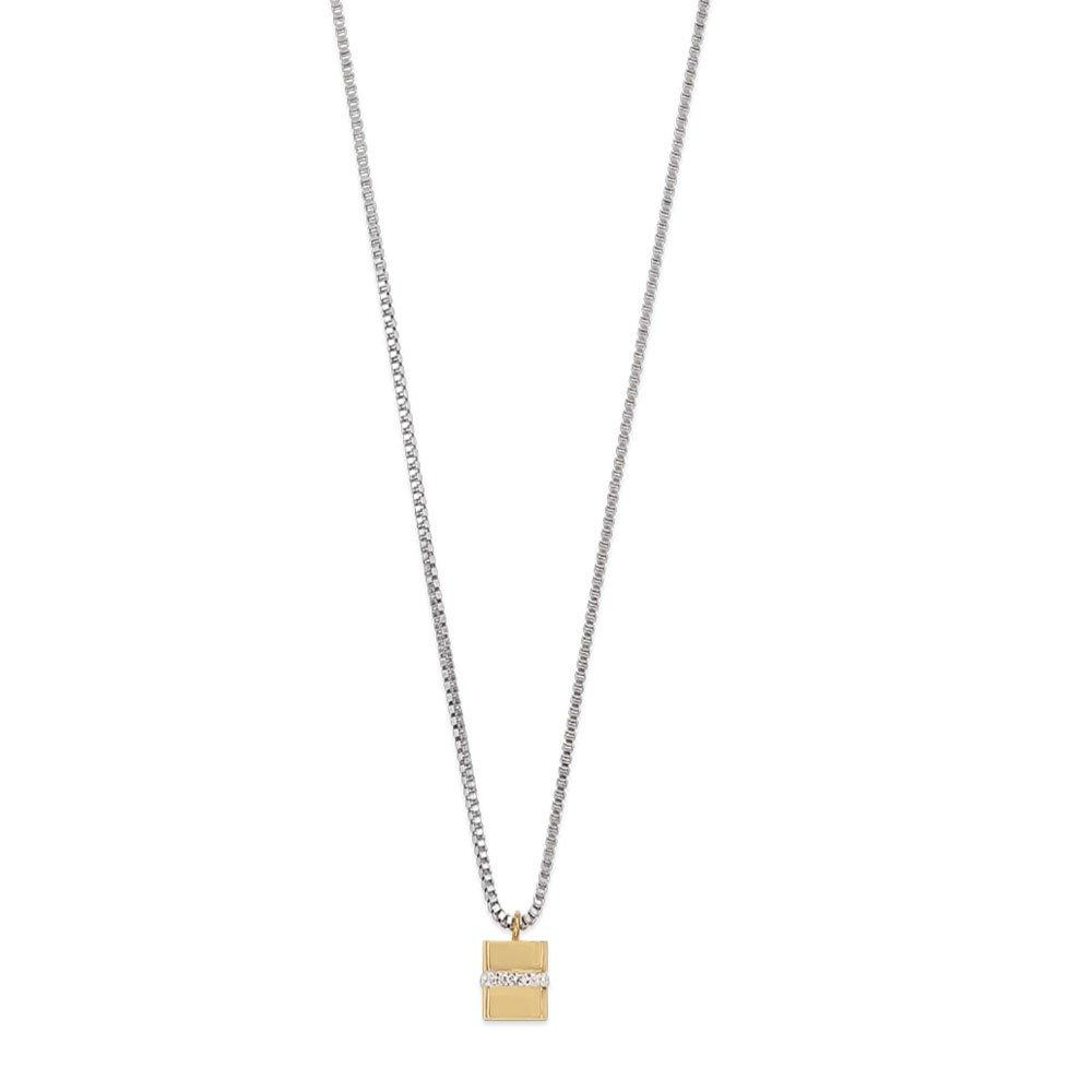 Coeur De Lion Two Colour Crystal Necklace