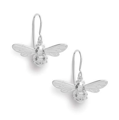 Olivia Burton Lucky Bee Silver Earrings