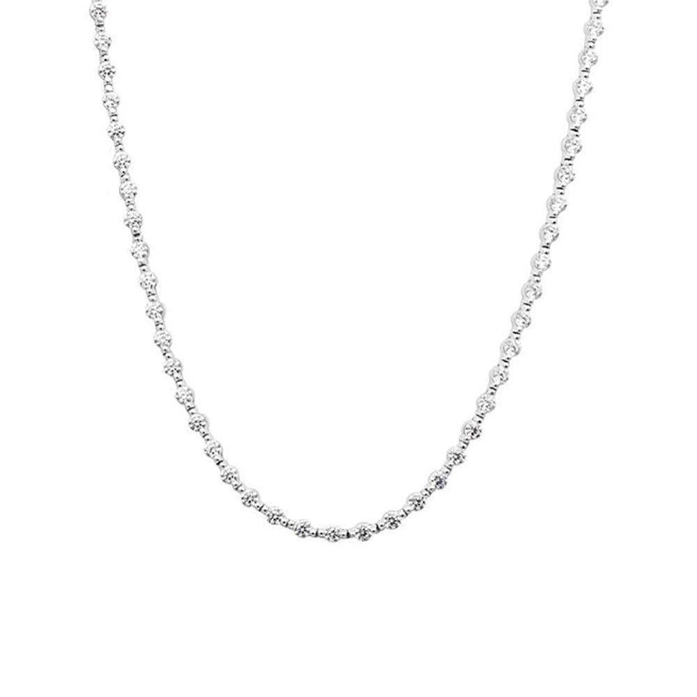 CARAT Coralie Silver Necklace