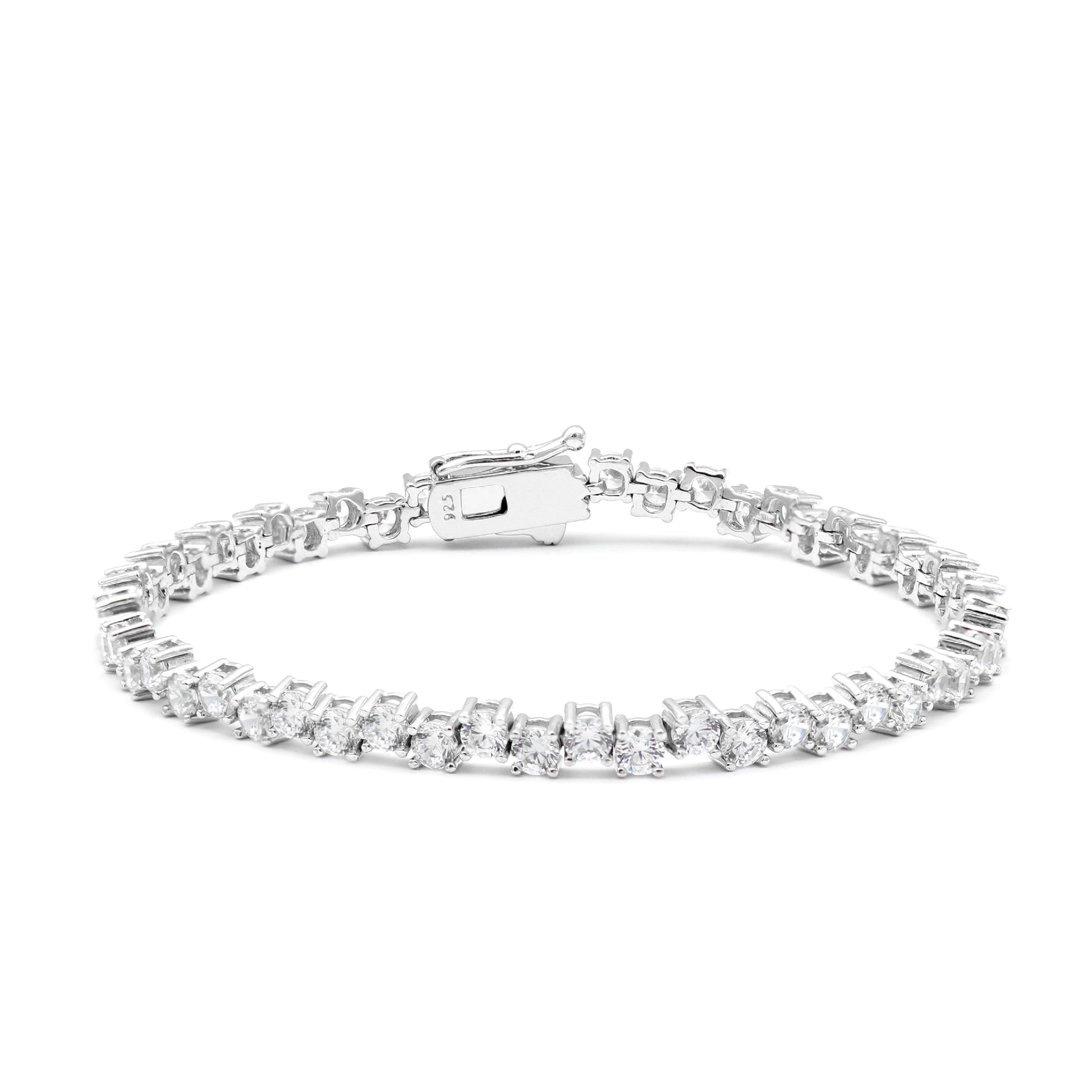 CARAT Helene Silver Bracelet