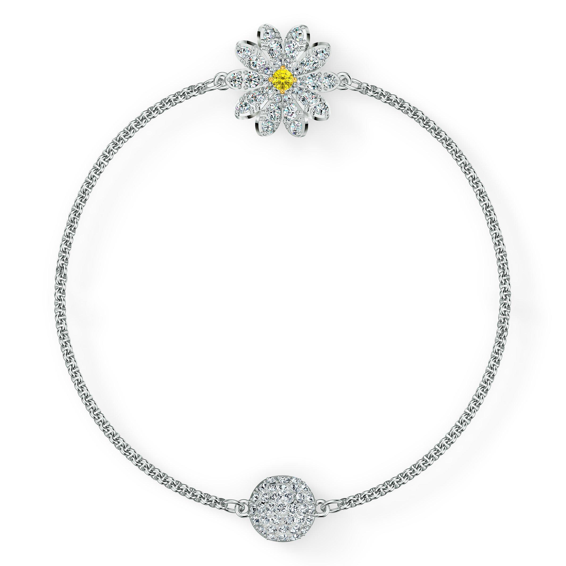 Swarovski Eternal Flower Silver Tone Bracelet