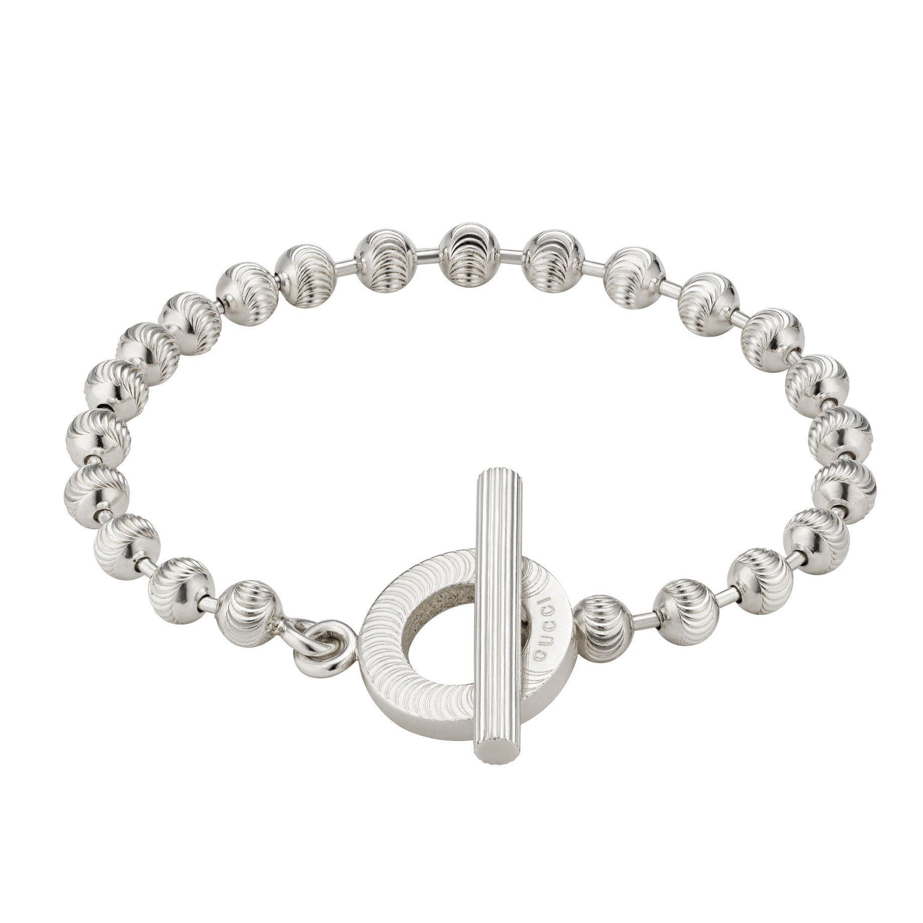 Gucci Boule Silver Bracelet
