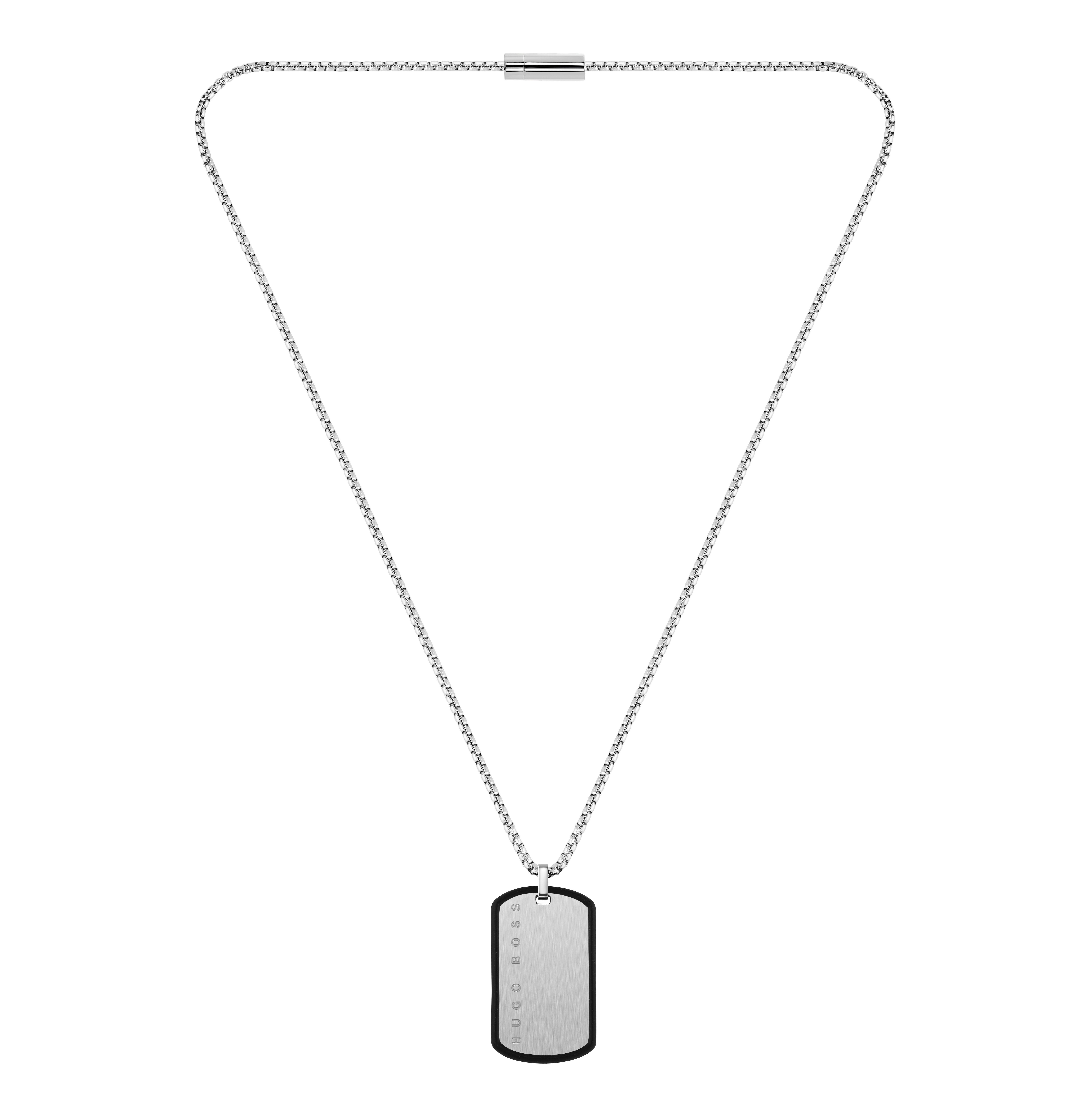 BOSS ID Tag Men's Necklace
