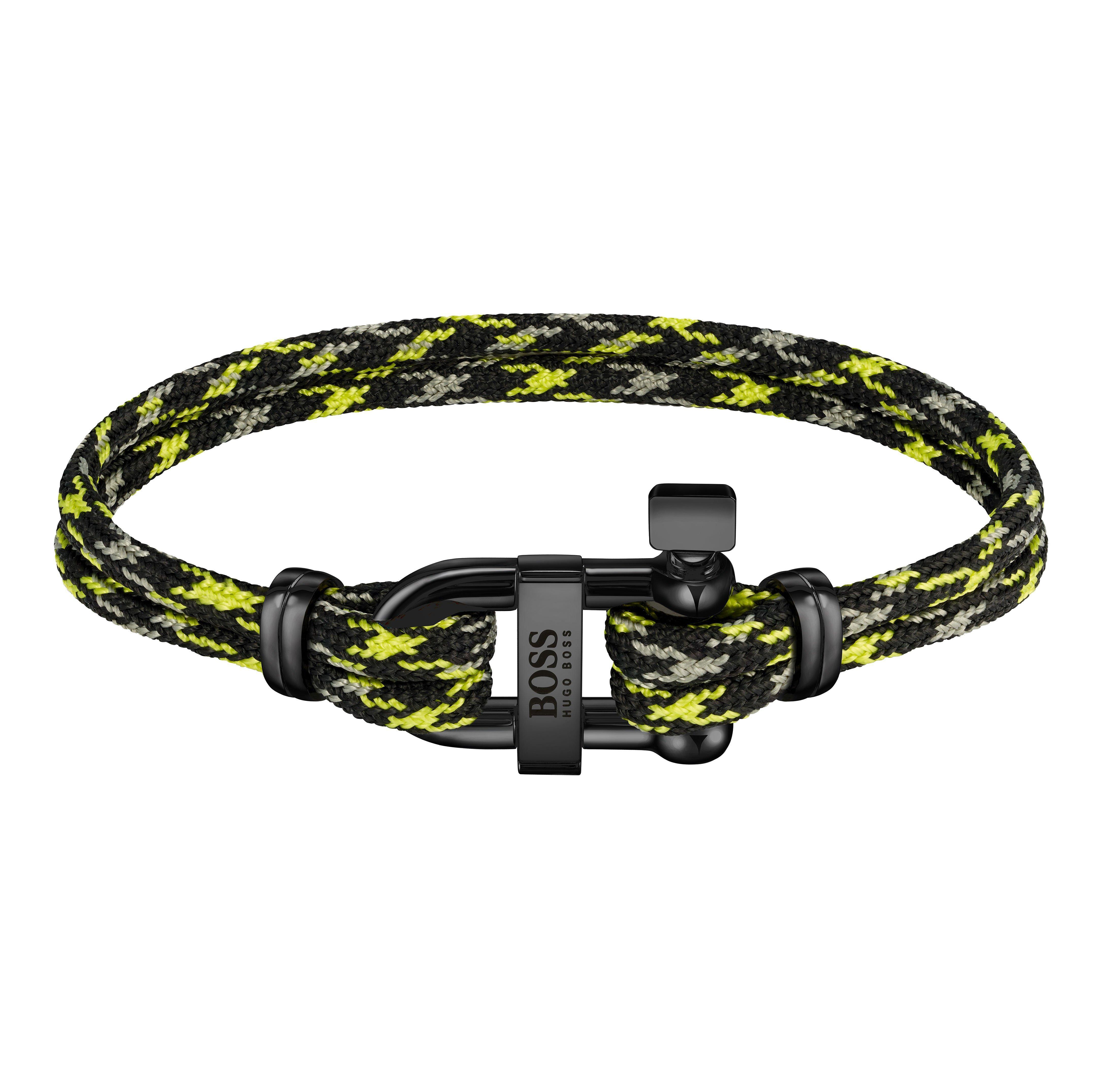 BOSS Sailing Cord Men's Bracelet