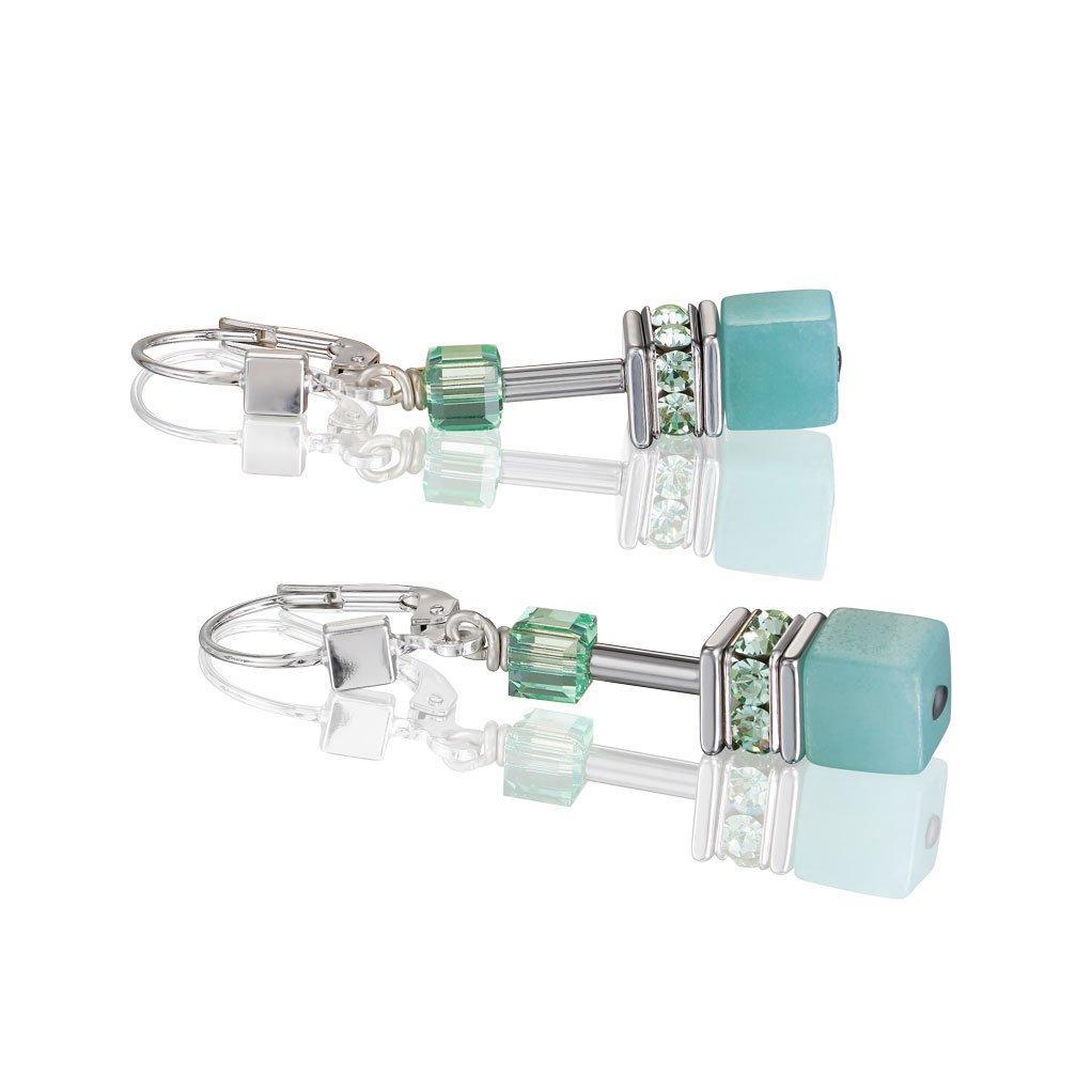 Coeur De Lion Geocube Drop Earrings