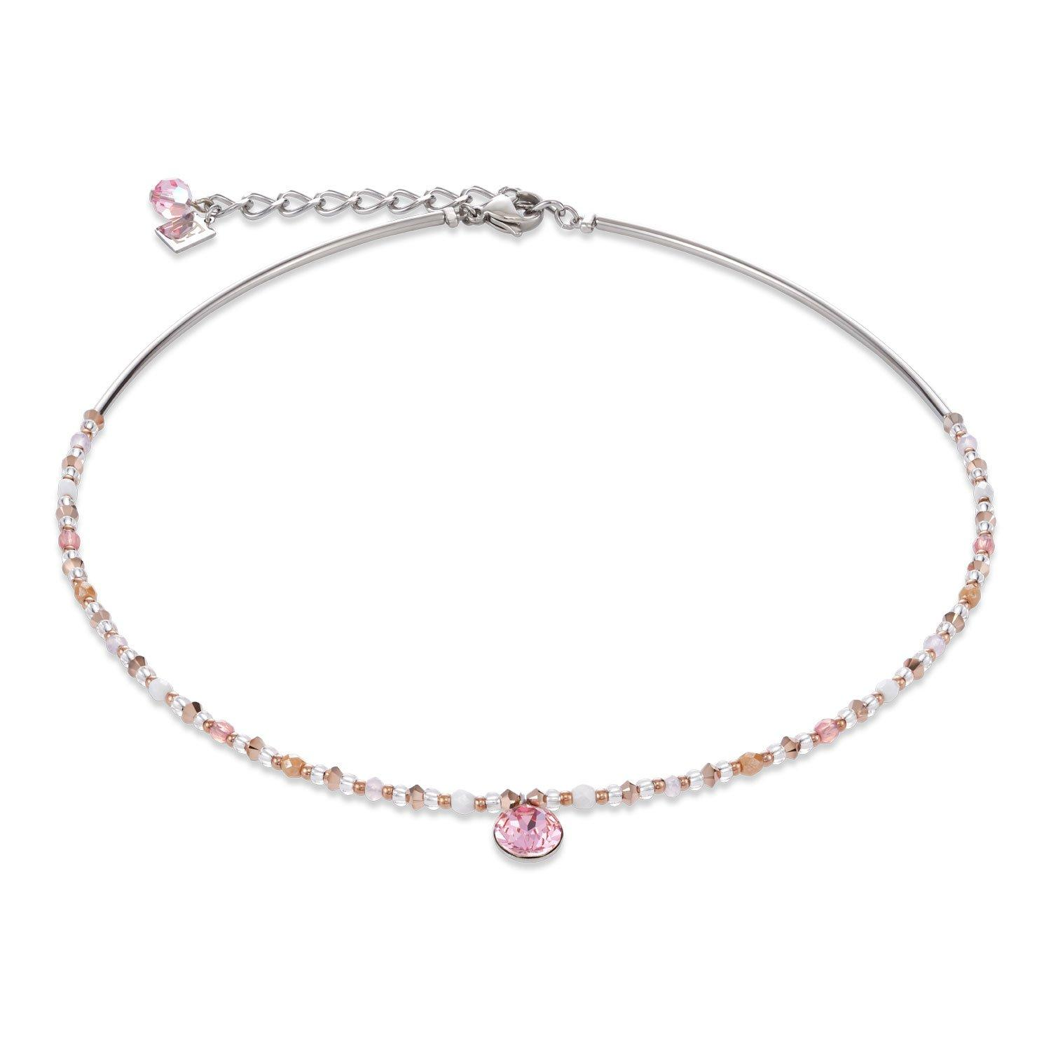 Coeur De Lion Pink Bead Necklace