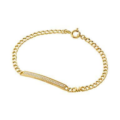 Michael Kors Premium 14ct Gold Plated Silver Bracelet