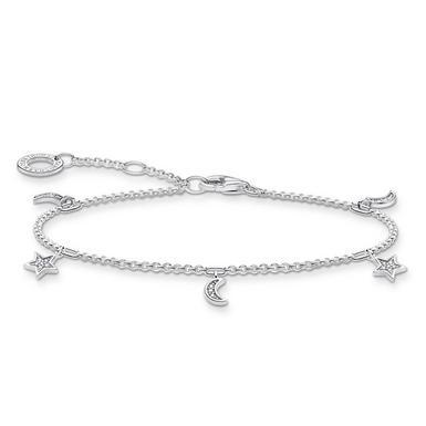 Thomas Sabo Silver Star and Moon Bracelet