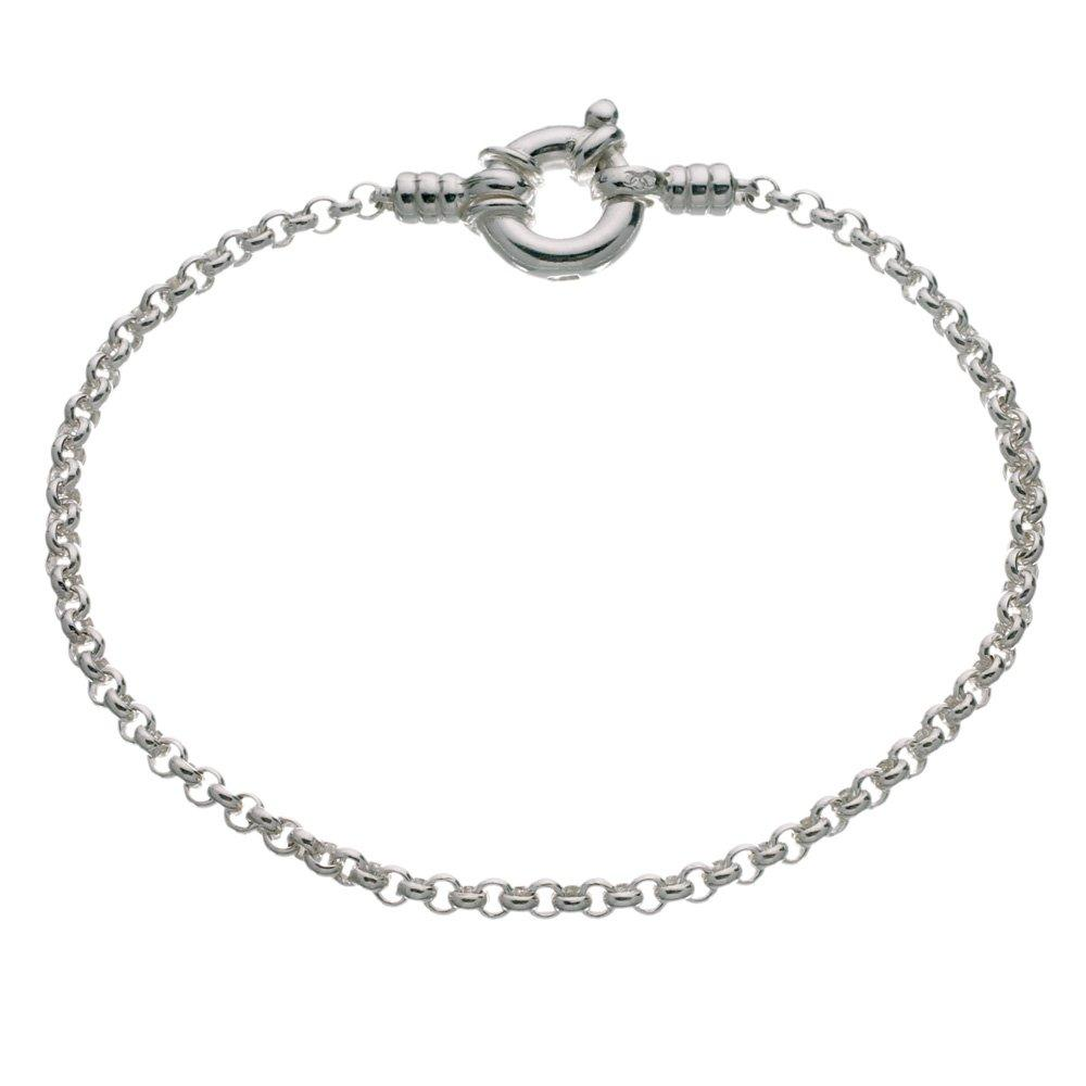 Links of London Silver Mini Belcher Bracelet - 18cm