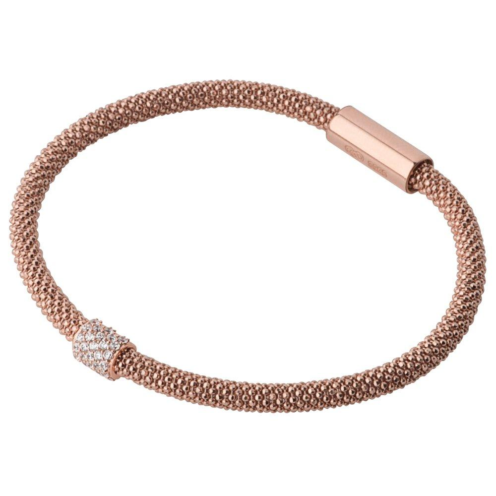 Links of London Rose Gold Star Dust Bead Bracelet
