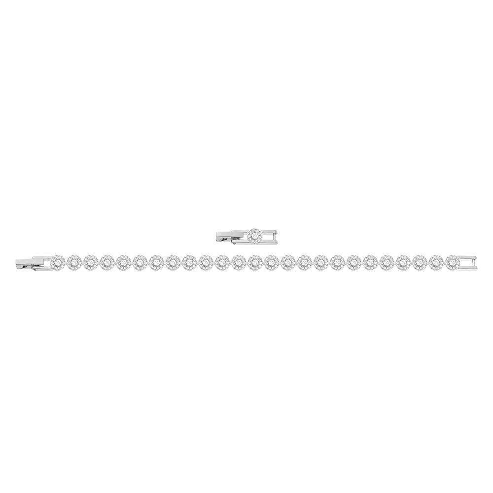 Swarovski Angelic Rhodium Plated Crystal Bracelet