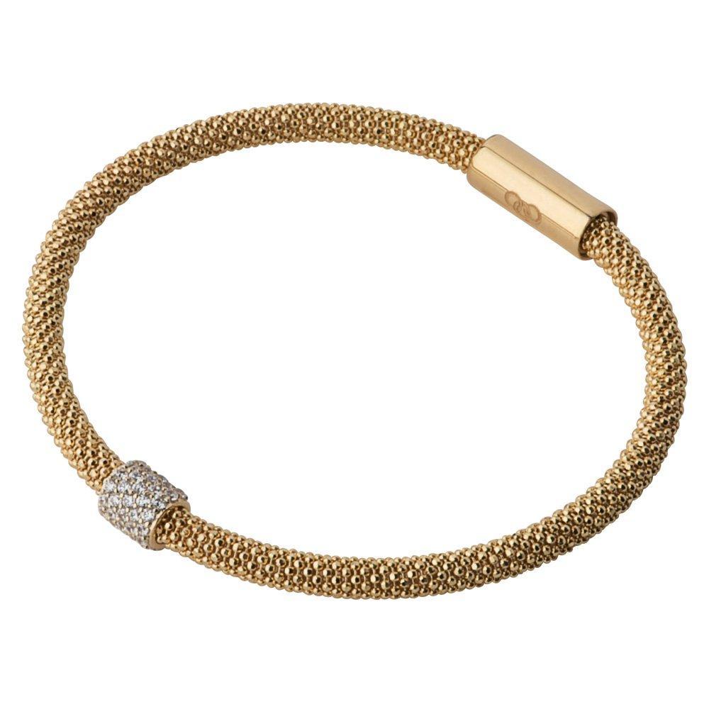 Links of London Star Dust Bead Gold Plated Bracelet