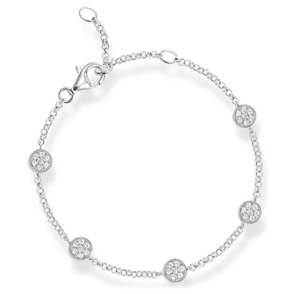 Thomas Sabo Silver Glam & Soul Cubic Zirconia Bracelet