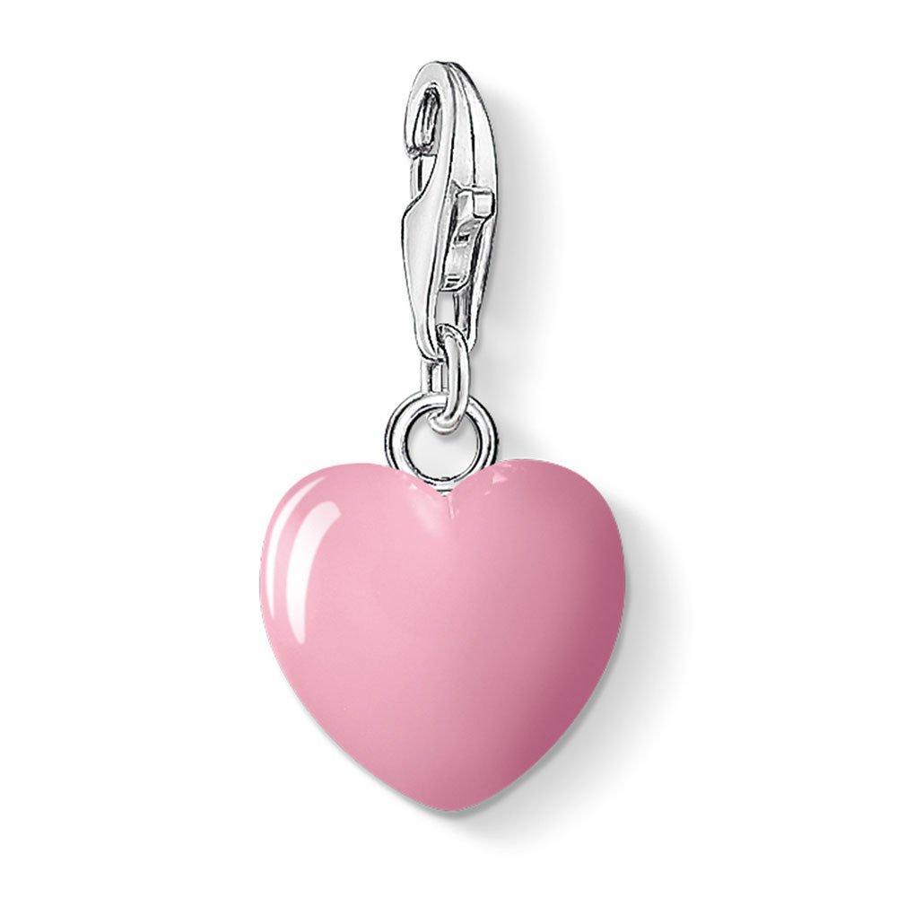 Thomas Sabo Generation Charm Club Love & Friendship Enamel Heart Charm